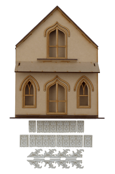 Union Cottage (Shadow Box)